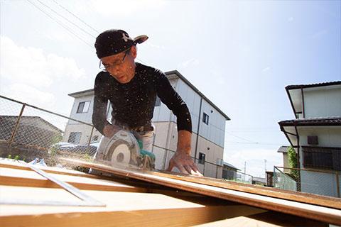 昭和技建は、熊本県菊池市を中心に熊本県内一円で、日々リフォーム工事に従事しております