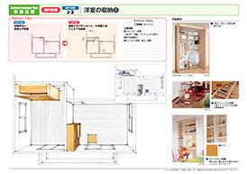 菊池市のリフォーム専門店 昭和技建の収納リフォームプラン No.01
