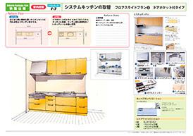 菊池市のリフォーム専門店 昭和技建のキッチンリフォームプラン No.05