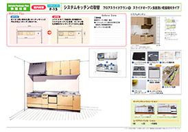 菊池市のリフォーム専門店 昭和技建のキッチンリフォームプラン No.11