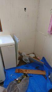 洗面台取り替え